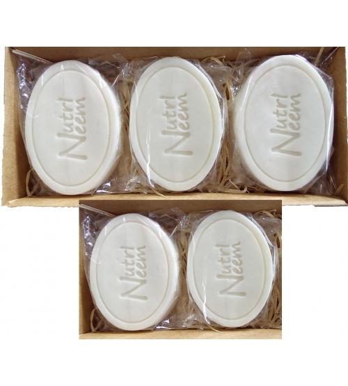 Sabonetes Naturalneem  Com Óleo de Neem Nim 100 Gr Kit com 5 unidades