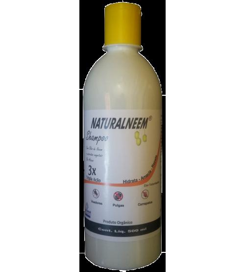 Shampoo Naturalneem Com Óleo de Neem Nim 500 ml