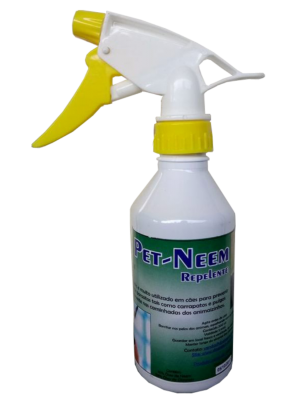 Pet Neem Repelente Spray Com Óleo De Neem e Citronela 250 ml