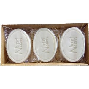Sabonetes Naturalneem  Com Óleo de Neem Nim 100 Gr Kit com 3 unidades