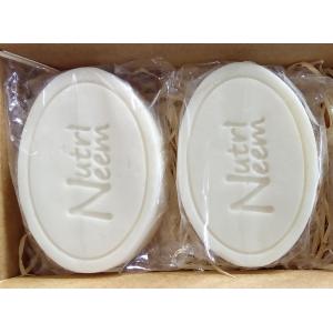 Sabonetes Naturalneem  Com Óleo de Neem Nim 100 Gr Kit com 2 unidades